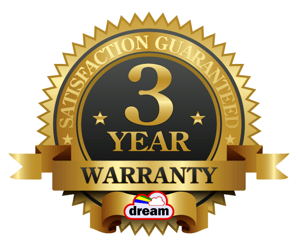 3 Year Gold Warranty