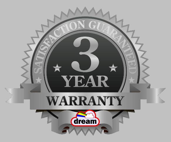 3 Year Silver Warranty