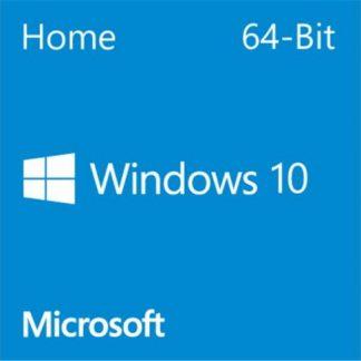 Microsoft Windows 10 Home OEM 64-bit English 1 Pack DSP DVD