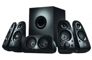 Logitech Z506 5.1 Surround Sound Speakers for PC PS3 Xbox 360 Wii iPod DVD player 3D Stereo 75 watts (RMS) Ported
