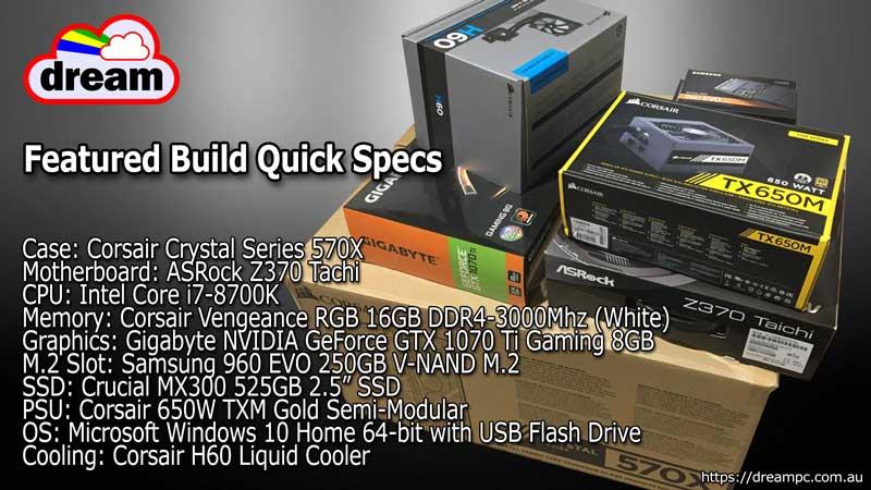 i7-8700k components