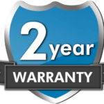 Resistance laptops come with a 2 year warranty