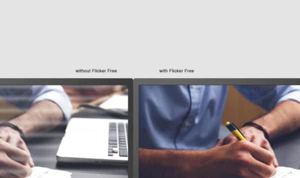 Flicker Free Backlight Technology
