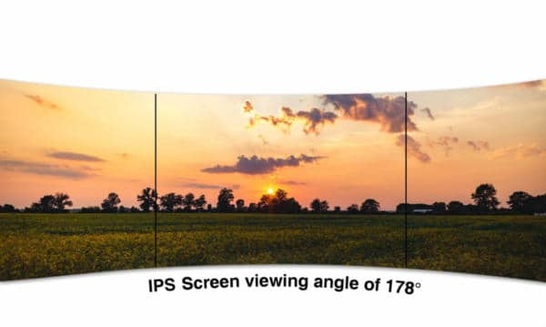 "AOC 27"" IPS wide viewing angle screen"