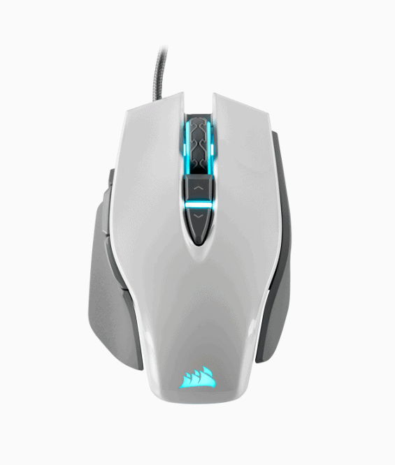 M65 RGB ELITE Tunable FPS Gaming Mouse — White