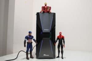 100113 Antec Prime Dark Avenger DA601