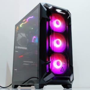 Antec DF600 FLUX High Airflow ARGB Gaming Case