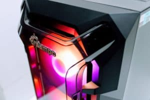 Antec DF600 FLUX High Airflow ARGB Gaming Case