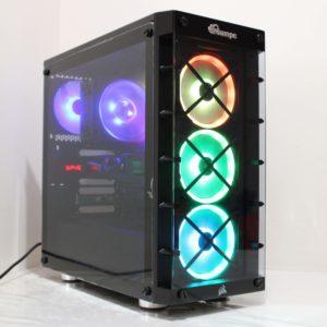 iCUE 465X RGB Mid-Tower ATX Smart Case — Black CC-9011188-WW