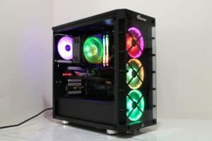 iCUE 465X RGB Mid-Tower ATX Smart Case — Black CC-9011188-WW