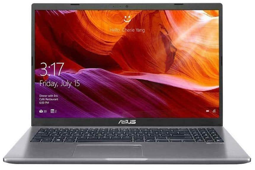 Asus X509JA 15.6′ HD Intel i5-1035G1 8GB 512GB SSD WIN10 HOME HDMI Intel UHD Graphics 1.8kg 1YR WTY SLATE GREY W10H Notebook (X509JA-BR104T)(LS)
